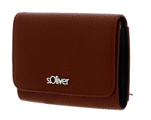 s.Oliver Wallet With Flap Cognac