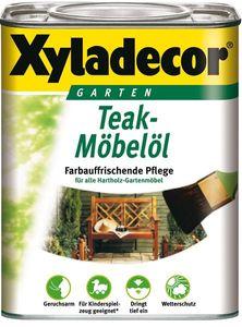 XYLADECOR Teak Möbelöl 0,75 L / Holzpflege / Holzschutz