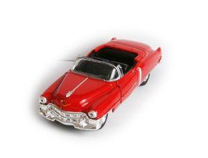 CADILLAC 1953 Eldorado Modellauto Metall Modell Auto Spielzeugauto Welly 87 (Rot offen)