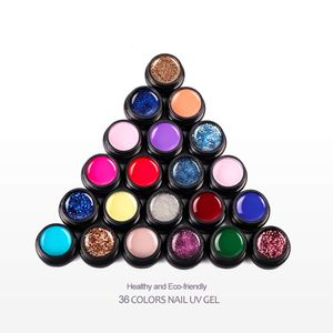 COSCELIA Gelnägel Set, 36 Farben UV farbgel , Nagelgel Farben, UV Gel Nagellack Set, Nail Gel Geschenkset für Frau, Nail Art Salon zu Hause, Perfekt für Anfänger