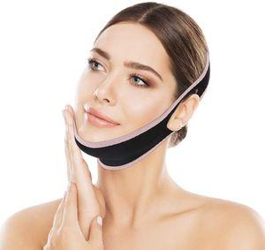 Schlankheitsgürtel für das Gesicht, schmerzfreier Facelifting-Gürtel, Doppelkinnreduzierer, Kinngürtel in V-Linie, um Spiel zu vermeiden