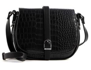 Esprit Susie kleine Umhängetasche Crossbag Satteltasche 090EA1O320, Farbe:Black