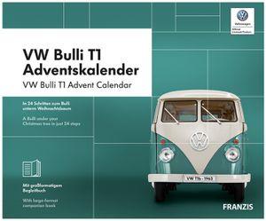 Franzis Adventskalender 2019 VW Bulli T1, Maßstab 1:43