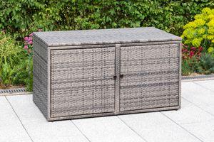 Merxx Komfortkissenbox - Stahlgestell mit Kunststoffgeflecht - 28816-267