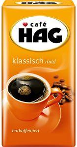 Café HAG klassisch mild entkoffeinierter Genießerkaffee, gemahlen, 500g