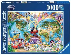 Disney's Weltkarte