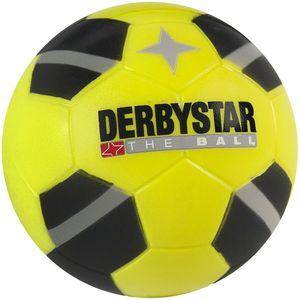 DERBYSTAR Minisoftball Fußball Ø 7cm schwarz/gelb
