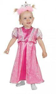 W3136-98 rosa Prinzessin Baby-Kleinkinderkostüm Gr.98