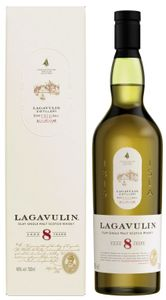 Lagavulin 8 Jahre Islay Single Malt Scotch Whisky in Geschenkpackung | 48 % vol | 0,7 l