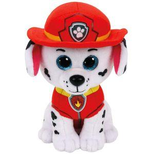TY Beanie Boos Glubschi Paw Patrol Marshall 24cm Feuerwehr Hund Stofftier