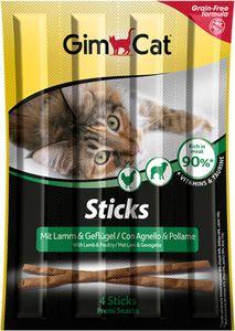 GimCat Sticks Lamm & Geflügel 4 Stück