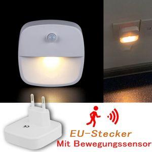 Melario LED Nachtlicht Mit Bewegungsmelder Steckdose LEDs Nachtlicht Nachtlampe