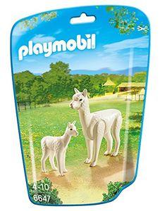 PLAYMOBIL 6647 - Alpaka mit Baby
