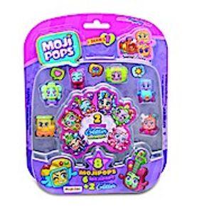 MojiPops 1 - Blister 8 Figurines Glitter Surprise