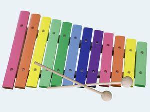 Concerto Xylophon 12 Töne 30cm Holz bunt
