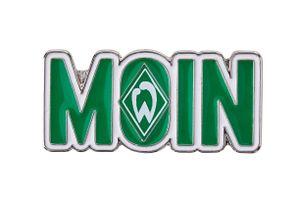 """SV Werder Bremen Pin Anstecker """"Moin"""""""