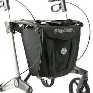 Tasche für Sunrise Medical Gemino 30, City-Gepäcktasche, Rollatortasche, verschließbar