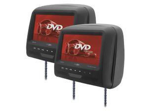 Caliber DVD-Player - 2X Kopfstütze mit DVD - 7 Zoll - Schwarz (MHM273T)