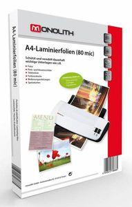 Laminierfolien A4 80 Mic,hochglanz, 100St.