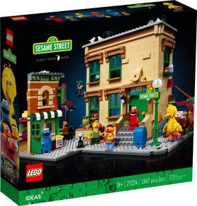 LEGO Ideas 123 Sesame Street - 21324, Bausatz, Junge/Mädchen, 18 Jahr(e), 1367 Stück(e), 1,9 kg