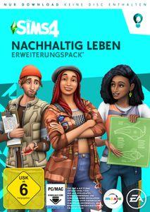 Die Sims 4 - Nachhaltig Leben (Add-On) (CIAB) - CD-ROM DVDBox