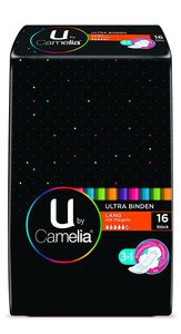 Camelia U by Ultra Binden Lang mit Flügeln 16er