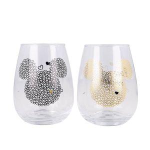 Mickey Mouse Glas 2er-Set Disney