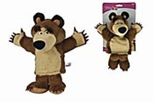 Mascha und der Bär- Plüschbär Handpuppe 28cm