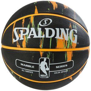 Spalding NBA Marble Multicolor Basketball Gr. 7 Schwarz