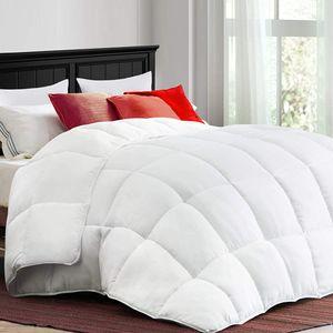 MEROUS-4 Saison Bettdecke, Federsteppdecke, aus reiner Baumwolle, 200x200cm