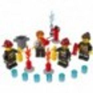 LEGO 850618 City Feuerwehr Zubehör-Set  LEGO Thema: LEGO City, Anzahl Minifiguren: 4, Anzahl Teile: 27, Gewicht: 0.064 KG, Altersberatung: 5+, Veröffentlicht in: 2013, Verpackungsmaße (lxbxh): 15.5 x 18.7 x 2.5 cm, Zahl: 850618-1, EAN: 5702014996281