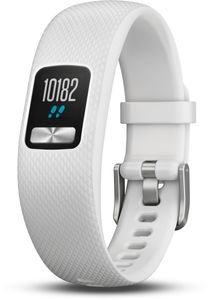 Garmin Fitness Tracker vivofit 4 weiß Größe S/M Bluetooth wasserdicht