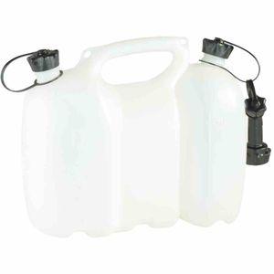 Doppelkan.6+3 Liter natur PROFI, weiß