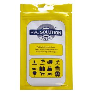 PVC Solution Tape 28 x 7,6 cm - Spezialklebeband selbstklebend - Wasserbetten, Planen, Zelte, Pool, Flicken, Flickzeug, Reparaturset