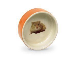 Nobby Hamster Keramikschale orange Ø7,5 x 2,5 cm