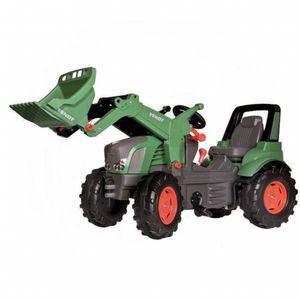 Rolly Toys Fendt 939 Vario ohne Luftbereifung, mit Schaltung/Frontlader Traktor Trettraktor grün