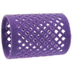 Hairforce Metallwickler beflockt 45 mm - violett