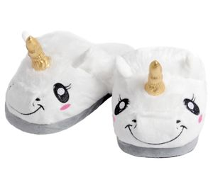 Einhorn Pantoffeln Damen Kinder, Schuhgröße wählen:36/37