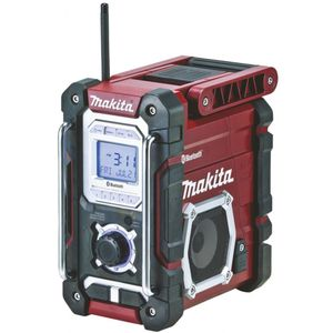Makita DMR108AR - Baustellenradio - rot/schwarz