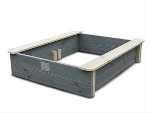 Sandkasten EXIT Aksent Sandkasten Holz natur/grau 77x94cm