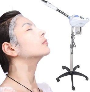 Gesichtsdampfer Gesichtssauna Vapozon Ozon Bedampfer Dampfgerät Kosmetikstudio Gesichtsdampfer Gesicht Spa Verdampfe 360 ° Drehbare Düse
