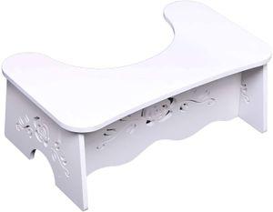Toilettenhocker Tritthocker Toilettenhilfe  Toilettenstuhl WC Toilettenhaltung 47 * 27.5 * 17.5 cm