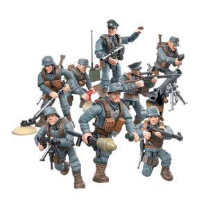 1/35 Special Forces Soldaten Ziegel Figuren Pistolen Armee Waffen Zubehör SWAT Baustein Ziegel Kinder Spielzeug EIN
