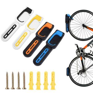 Fahrrad Wandhalter Klappbar Fahrradhalter Wandhalterung Bike Haken Halter Blau
