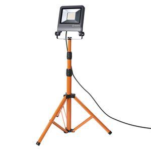 LEDVANCE WORKLIGHT 50 W LED Mobiler Strahler Kaltweiß 180 cm Aluminium  /  Stahl Dunkelgrau