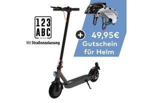 TREKSTOR e.Gear EG31 E-Scooter mit Straßenzulassung 350 Watt / 20 km/h