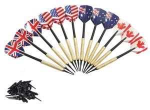 12 Sticks Electronic Soft Darts + 100 dartköpfe bundled Darts