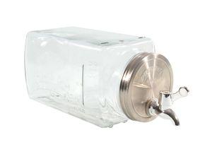 Getränkespender für den Kühlschrank - 3 Liter - mit Zapfhahn im Deckel