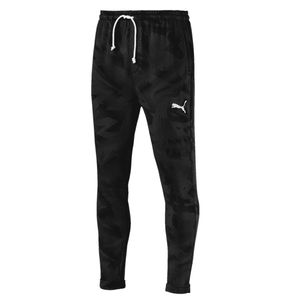 Puma Jogginghose Herren schwarz Cup Casuals Sweat Pants, Größe:M