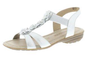 Remonte Damen Sandale R3633-90 ice weiß, Damen Größen:37, Farben:weiß